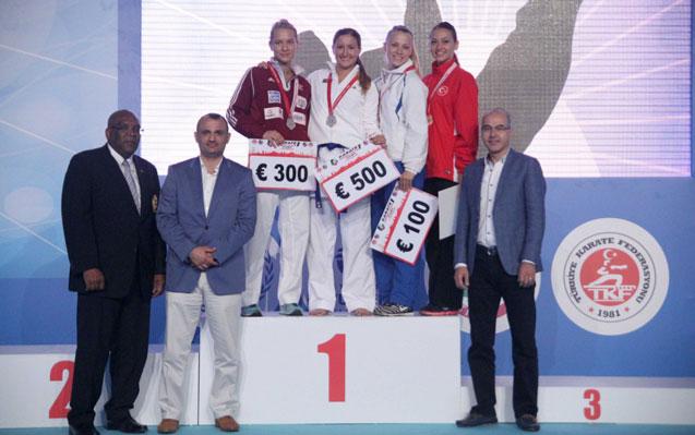 Azərbaycan karateçisi beynəlxalq yarışın qalibi oldu