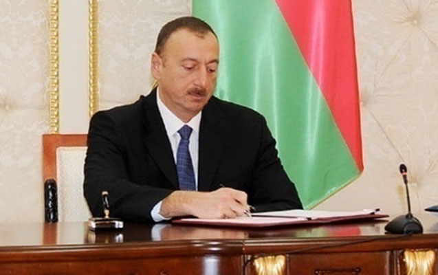 """Prezident sərəncam verdi -Onlara """"Tərəqqi"""" medalı verdi"""