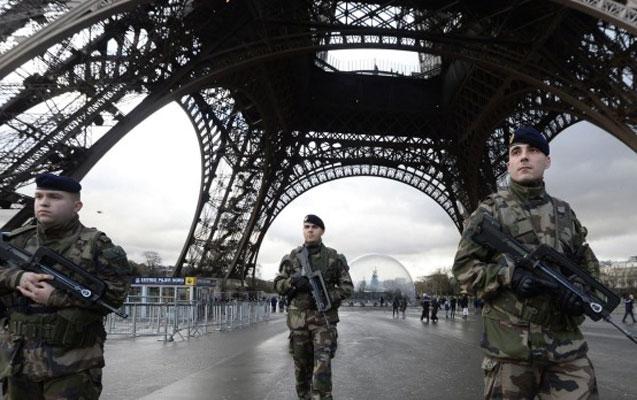 Fransada terror xəbərdarlığı