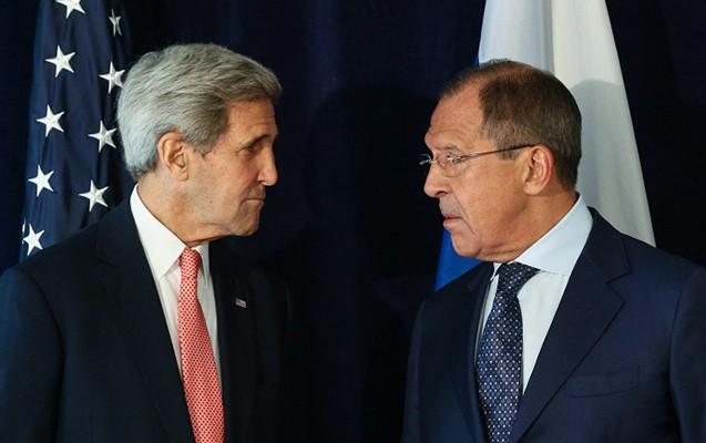 Kerri ilə Lavrov Suriyadan danışdı