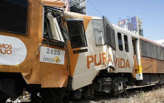 Kosta-Rikada iki sərnişin qatarı toqquşub -245 nəfər yaralanıb