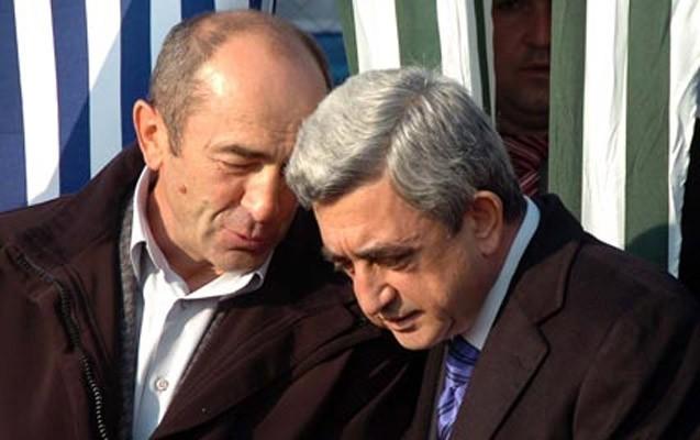 Köçəryan Sarkisyanla görüşdən imtina etdi