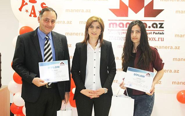 Tanınmış jurnalist qalib gəldi