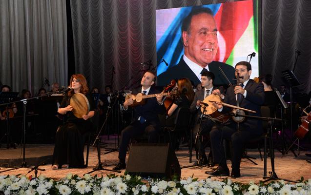Heydər Əliyevlə bağlı konsert -