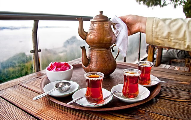 Azərbaycan üçüncü yerə çıxdı - Ən çox çay və kofe içilən ölkələr