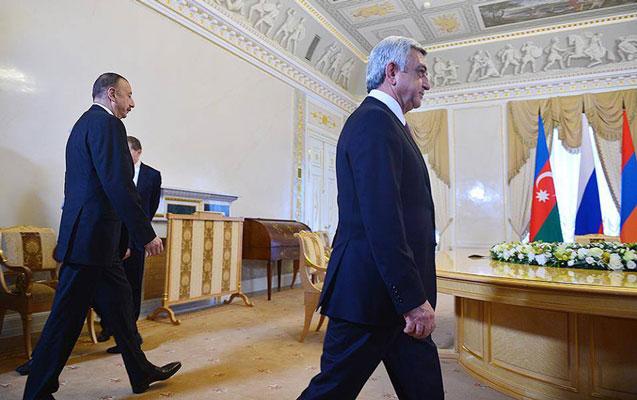 Prezidentlər razılaşmanı təsdiqlədilər - Sankt-Peterburq görüşü