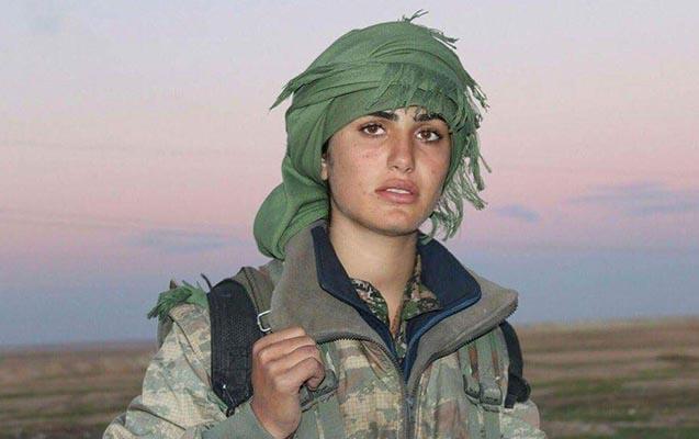 """Kürdlərin """"Ancelina Coli""""si öldürüldü - İŞİD-in ən gözəl düşməni..."""