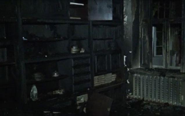 Bakıda yaşayan ailənin Zaqatalada 8 otaqlı evi yandı