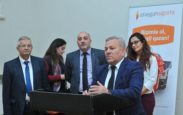 """""""Sığorta Şirkəti AzMİU-nun tələbələrinə əməkdaşlıq təklif edir"""
