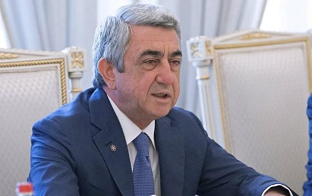 """""""Ermənistan Azərbaycanın ərazi bütövlüyünü tanıyır"""" - Sarkisyan"""