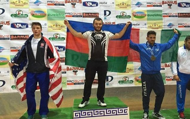 İdmançılarımız dünya çempionatında 4 qızıl medal qazanıb