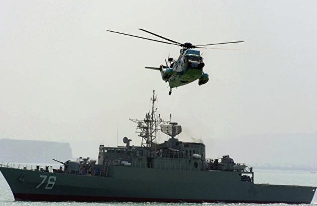 İrandan təhlükəli manevr - ABŞ helikopteri hədəfə alındı
