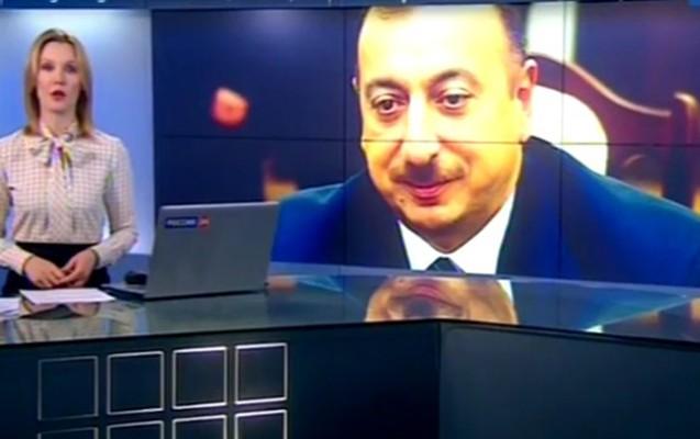 """""""""""Rossiya 24""""də Əliyev haqda süjet -  """"...Oğlu ilə qürur duyardı"""""""