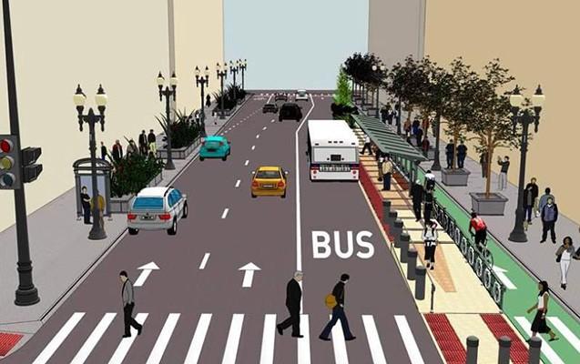 Bakıda avtobus zolaqlarını kim salacaq?