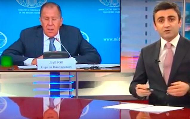 """ATV-dən Sergey Lavrova ağır sözlər- """"Erməni kimi cavab verdi..."""""""