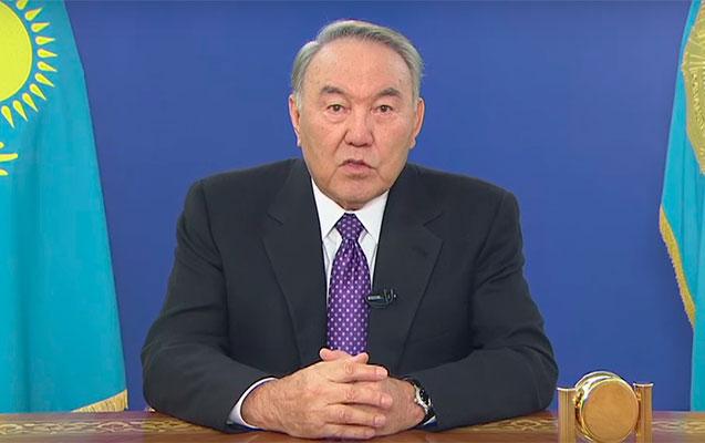 Nazarbayev səlahiyyətlərindən əl çəkir - Xalqa müraciət etdi +Video