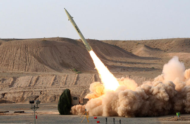 İran yenə ballistik raket sınağı keçirib
