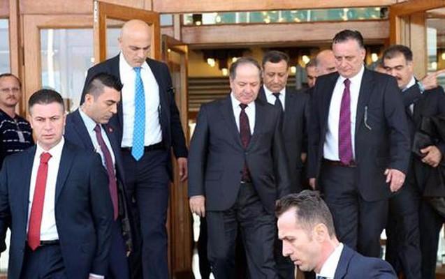 Bərzani İstanbula gedib - Ərdoğanla görüşür