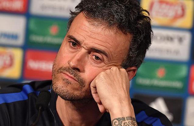 """Luis Enrike ""Barselona""dan gedir"