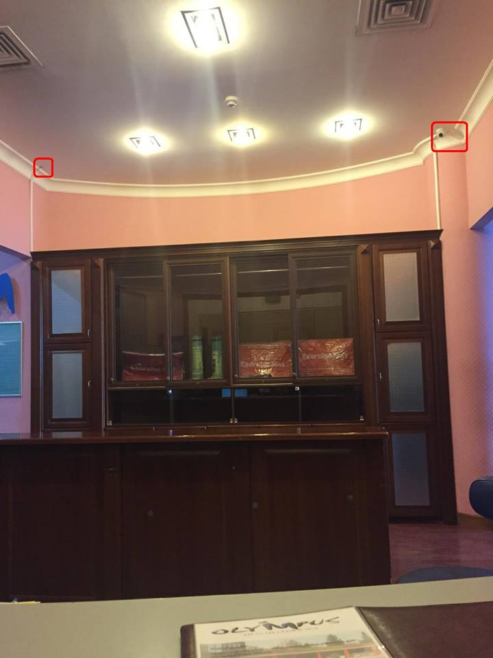 Bank müdirinin ölüm anını çəkən  -  Kamera yerindən sökülüb + Foto