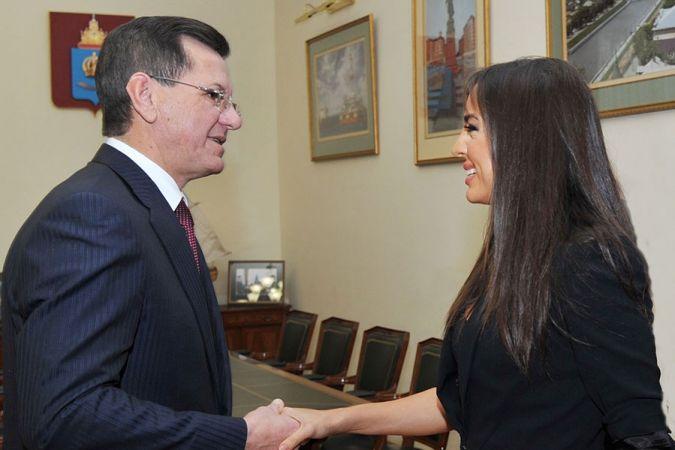 Putin Leyla Əliyevanı mükafatlandırdı