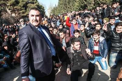 BDU-nun qalmaqallı mühafizə rəisi işdən çıxarıldı