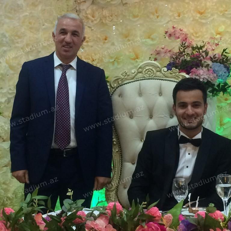 Şahin Diniyevin oğlunun toyundan -  Fotolar