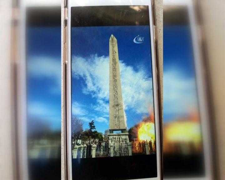 Sultanahmet Meydanında güclü partlayış -  10 ölü, 15 yaralı