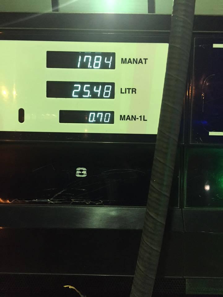 88 litrlik çənə 96 litr benzin vururlar  -