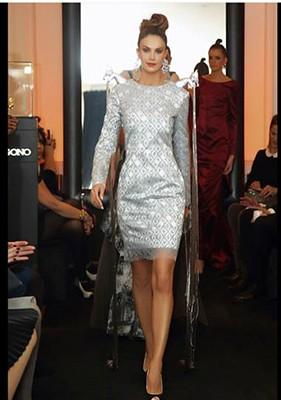 İrina Şeyk Elman Rüstəmovun qızının moda gecəsində - Fotolar