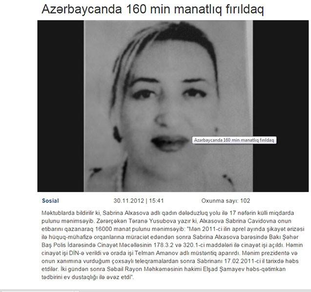 """""""Elnur Nağızadə dedi ki, bu 100 minlik işdi, 50 minə düzəldəcəm"""""""
