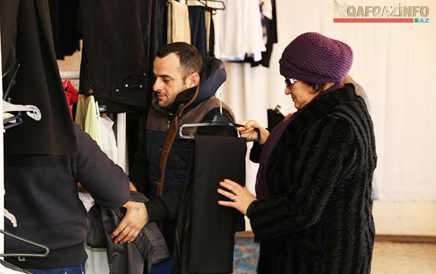 Bakıya səs salan pulsuz mağazadan - Reportaj