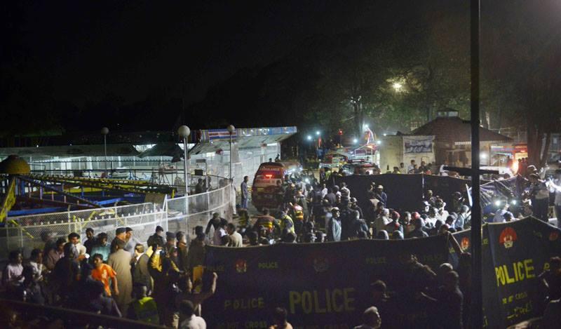 Lunaparkda dəhşətli terror -  63 ölü, 280 yaralı + Video