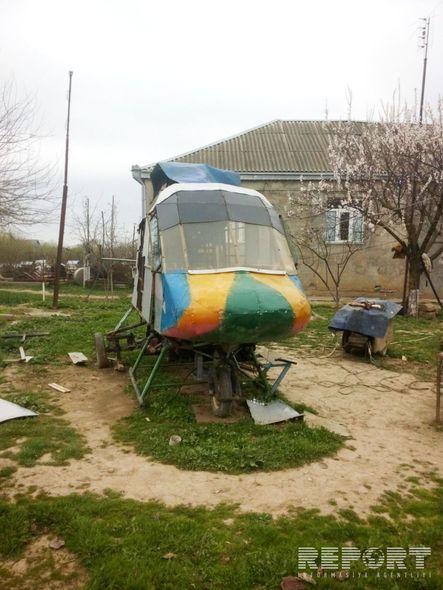 Qusar sakini helikopter hazırladı -  Fotolar+Video