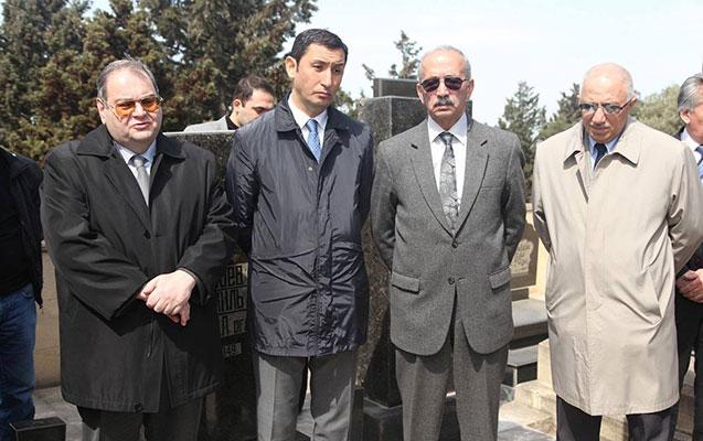 Ceyhun Mirzəyev yad edildi - Foto