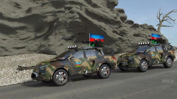 Ordumuz üçün yeni hərbi maşın