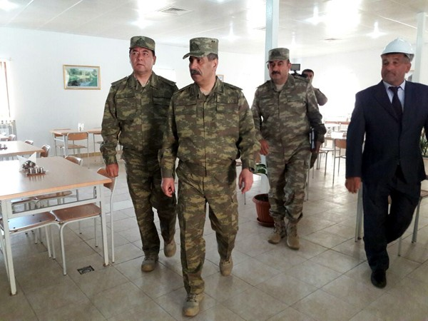 Zakir Həsənov yeni hərbi hissəsinin açılışında -  Fotolar