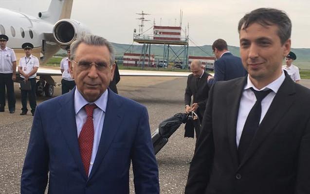 Ramiz Mehdiyev Çeçenistanda -  Azərbaycanlı nazirlə görüşdü