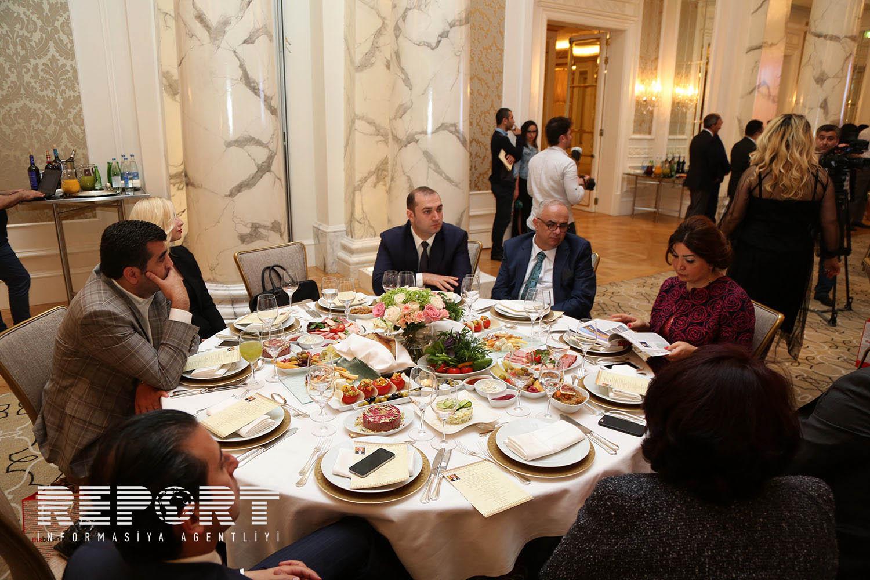Ölkənin siyasi elitası təqdimatda -  Fotolar