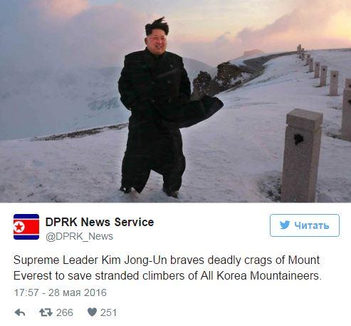Şimali Koreya lideri dünyanın ən yüksək zirvəsində -  Foto