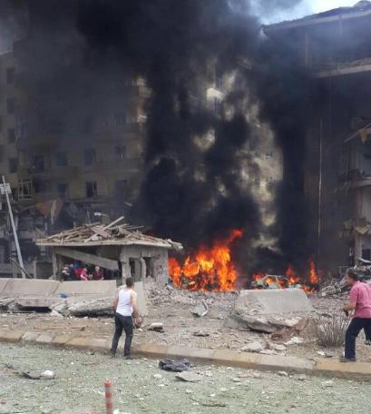 Türkiyədə növbəti terror -  Polis idarəsinə bombalı hücum