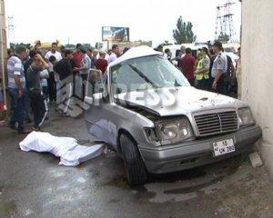 Bakıda məmur yol qəzasında öldü -  Fotolar