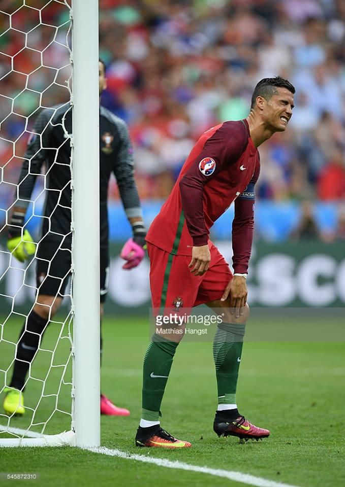 Ronaldo finalı yarımçıq tərk etdi və ağladı -  Fotolar + Video