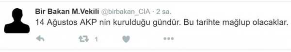Avqustun 14-ü Türkiyədə nə baş verəcək?