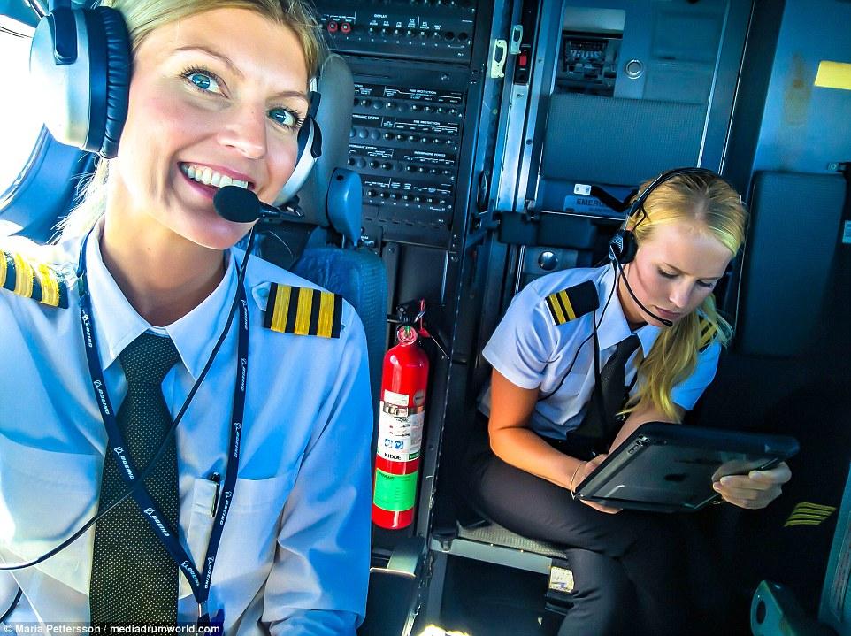 Dünyanın ən fərqli pilotu... -  Fotosessiya