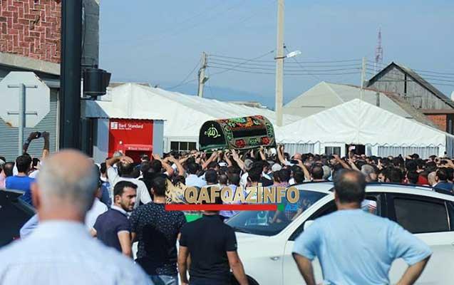 Lənkəranski son mənzilə yola salındı - Video