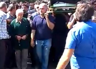 Lənkəranskinin polkovnik qardaşı dəfndə -  Fotolar+Video
