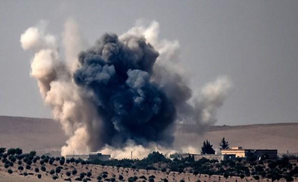 Türkiyə tankları Suriyaya girdi -  İŞİD hədəfləri bombalanır+Fotolar