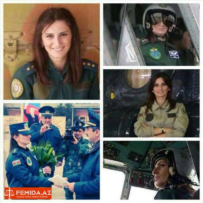 Ölən hamilə DSX-nin ilk qadın pilotu imiş...