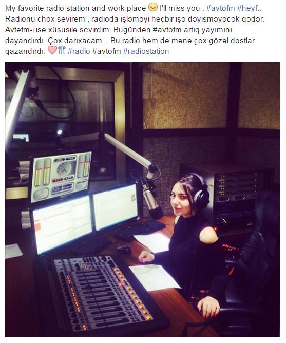Nazir oğlunun radiosu bağlandı -  Azərbaycanda
